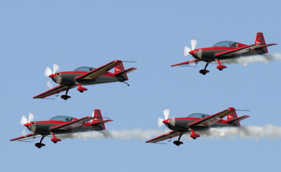 Display Teams seen at UK Airshows