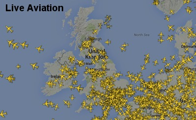 Live Aviation includes NOTAMS, Live ATC, Aircraft Webcams & Trackers